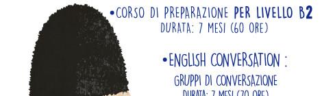 Corso di Inglese // Livelli B1 e B2