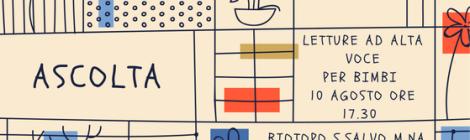 Letture animate al Biotopo Costiero di San Salvo Marina