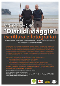 """Workshop """"Diari di viaggio"""""""