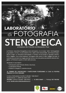 Laboratorio di fotografia stenopeica