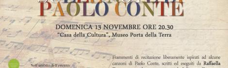 Sulle note di Paolo Conte