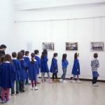 """mostra presso il Centro Culturale """"A.Moro"""" con Civico Zero e Alessandro Pace - scuole in visita"""