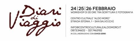 """Workshop """"Diari di viaggio"""" 24-25-26/02/2017"""
