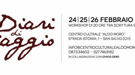 "Workshop ""Diari di viaggio"" 24-25-26/02/2017"
