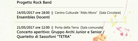 Maggio in crescendo > I stagione concertistica