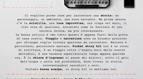 Pocket story kit con Mario Pistacchio e Laura Toffanello