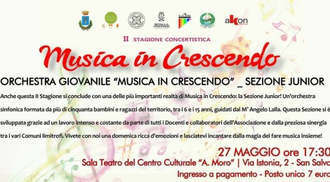 II stagione concertistica Musica in Crescendo