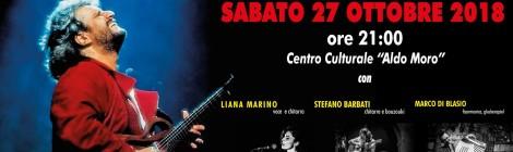 DEDICATO A PINO DANIELE, concerto 27 ottobre