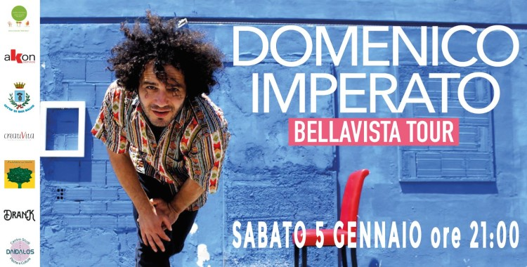 "Domenico Imperato, concerto ""Bellavista tour"" nuova data 2019"