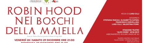 Robin Hood nei boschi della Maiella, spettacolo teatrale